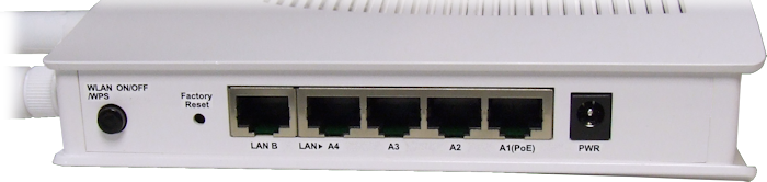 Vigor AP-900 Ports View