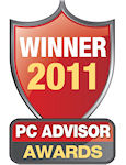 DrayTek wins PC Advisor Award, February 2011