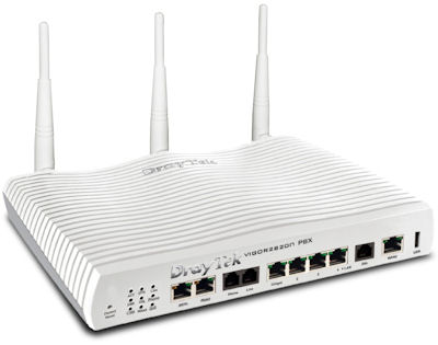 VigorIPPBX 2820 Integrated IP-PBX & ADSL Router Firewall