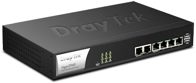 Vigor 2960 Series Router Firewall